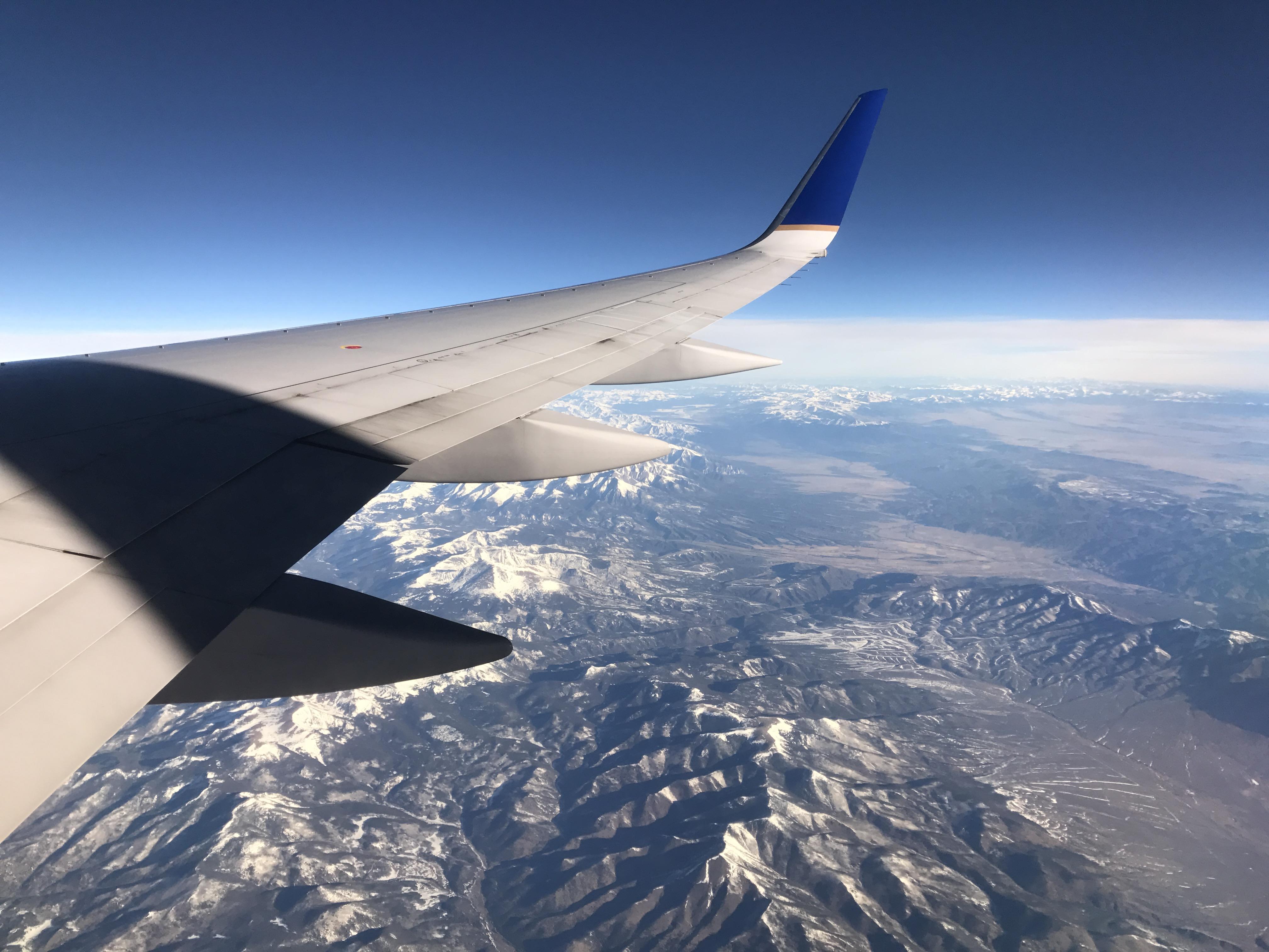 flying to Las Vegas