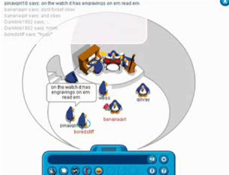 penguin chat igloo